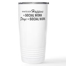 Whatever Happens - Social Work Travel Mug