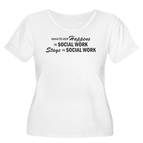Whatever Happens - Social Work Women's Plus Size S