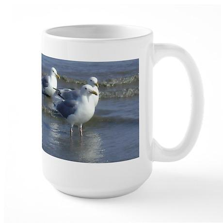 Seagull Heaven Large Mug