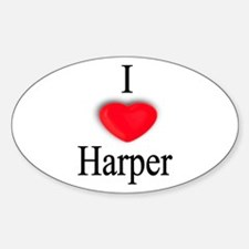 Harper Oval Decal