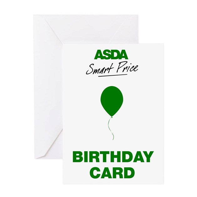 ASDA Smart Price Birthday Card By A_p_designs