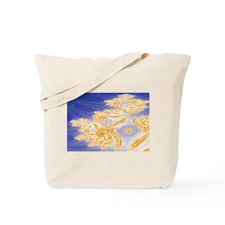 Beach Fractal Tote Bag