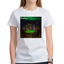 """""""Best table in the world"""" White Tee"""