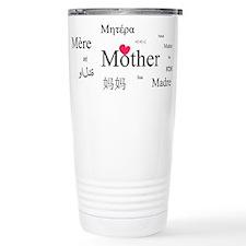Mother in a thousand language Travel Mug