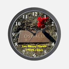 LEE HARVEY OSWALD 1939-1963 Wall Clock