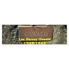 LEE HARVEY OSWALD 1939-1963 Bumper Sticker