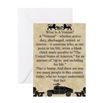 What is a Veteran Greeting Card