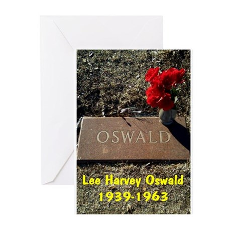 LEE HARVEY OSWALD 1939-1963 Greeting Cards (Pk of