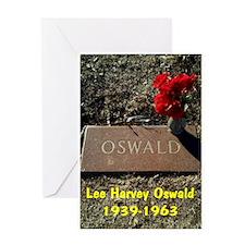 LEE HARVEY OSWALD 1939-1963 Greeting Card