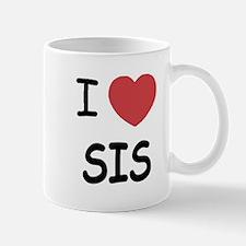 I heart sis Mug