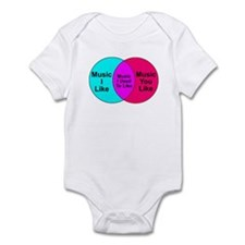 Music Snob Music I Used To Li Infant Bodysuit