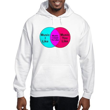 Music Snob Music I Used To Li Hooded Sweatshirt