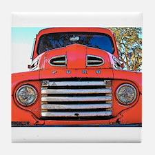 Unique Old truck Tile Coaster