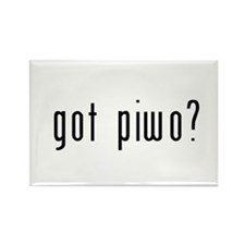 got piwo? Rectangle Magnet (100 pack)