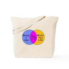 Music Snob Music I Used To Li Tote Bag