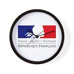 REPUBLIQUE FRANCAISE Wall Clock