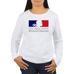 REPUBLIQUE FRANCAISE Women's Long Sleeve T-Shirt