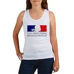 REPUBLIQUE FRANCAISE Women's Tank Top