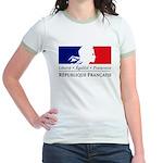 REPUBLIQUE FRANCAISE Jr. Ringer T-Shirt