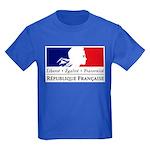 REPUBLIQUE FRANCAISE Kids Dark T-Shirt