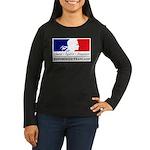 REPUBLIQUE FRANCAISE Women's Long Sleeve Dark T-Sh