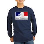 REPUBLIQUE FRANCAISE Long Sleeve Dark T-Shirt