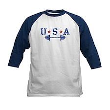 USA Weightlifting Tee