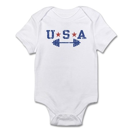 USA Weightlifting Infant Bodysuit