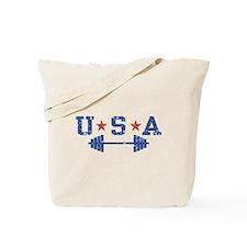 USA Weightlifting Tote Bag