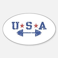 USA Weightlifting Decal