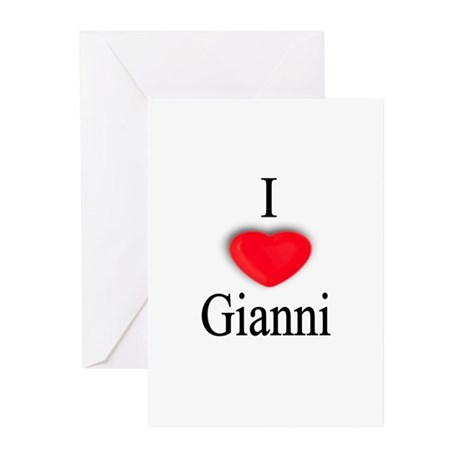 Gianni Greeting Cards (Pk of 10)