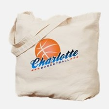 Charlotte Basketball Tote Bag