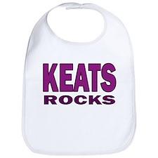 Keats Rocks Bib