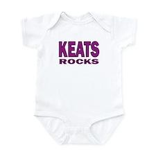 Keats Rocks Infant Bodysuit