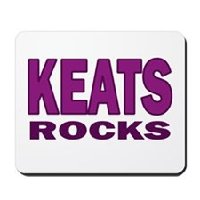 Keats Rocks Mousepad