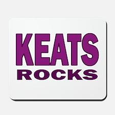 Keats Rocks Mousepad