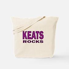 Keats Rocks Tote Bag