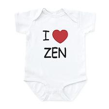 I heart zen Infant Bodysuit