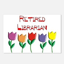 Retired Librarian Postcards (Package of 8)