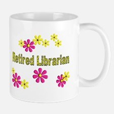 Retired Librarian Mug