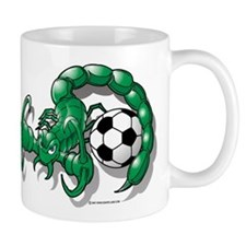 Sting Soccer Scorpion Mug