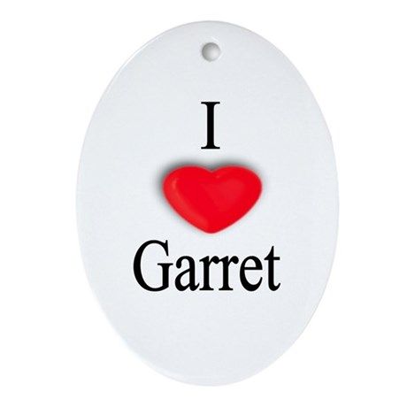 Garret Oval Ornament