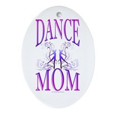 Dance Mom Ornament (Oval)