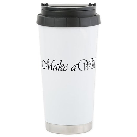 Make a Wish Stainless Steel Travel Mug