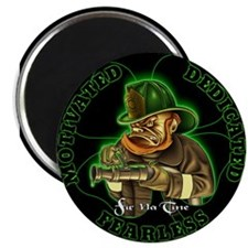 Irish Firemen Magnet