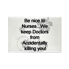 Cute Hospital Rectangle Magnet (10 pack)