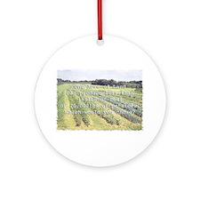 World Hunger Ornament (Round)