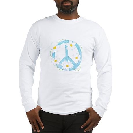 Peace Flower Long Sleeve T-Shirt