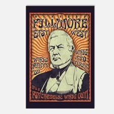 Millard Fillmore -Whig Out Postcards (Package of 8