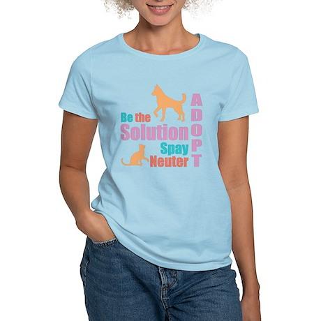 New Be The Solution Women's Light T-Shirt